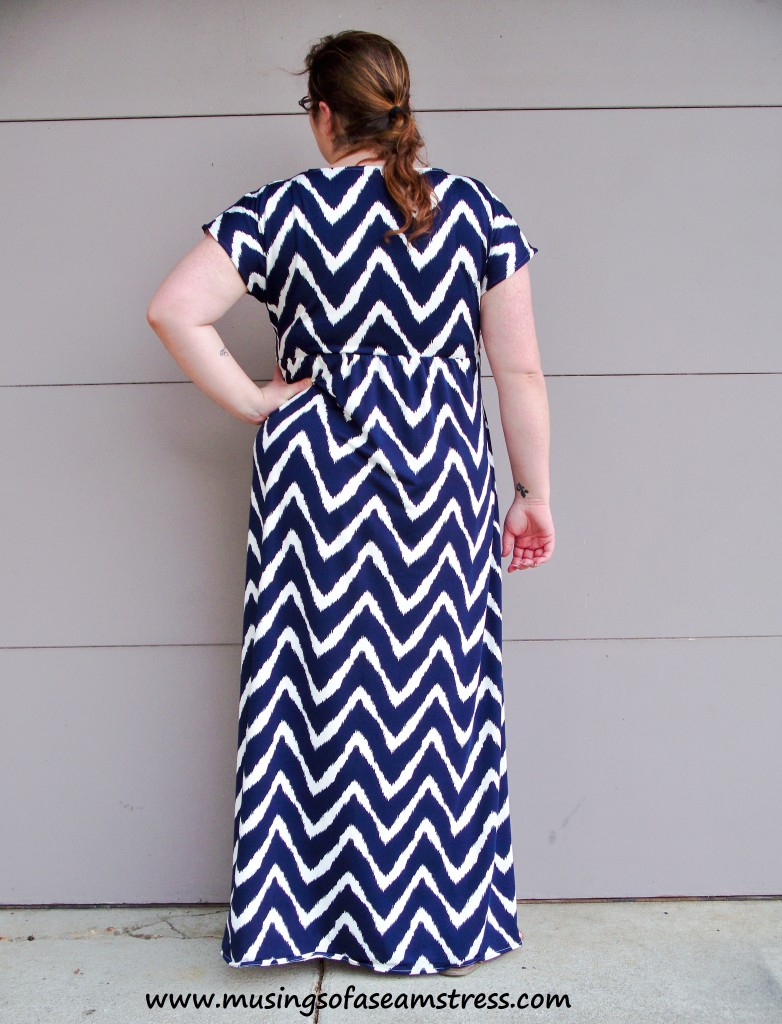Musings of a Seamstress - Simplicity 1804 back