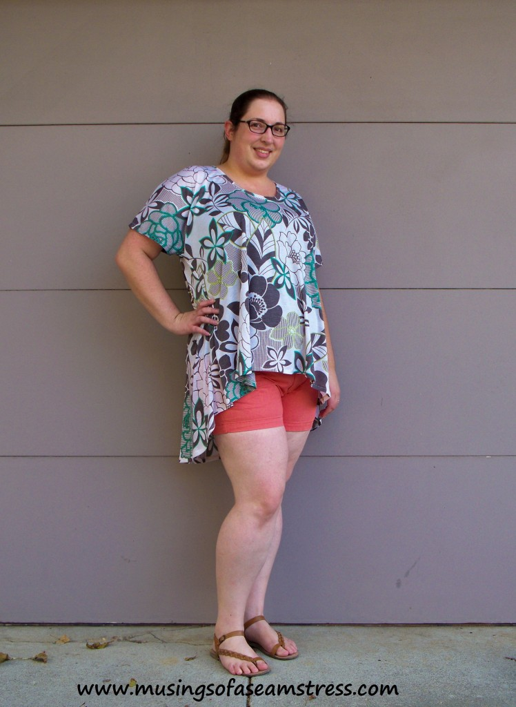Musings of a Seamstress - Summer Concert Tee