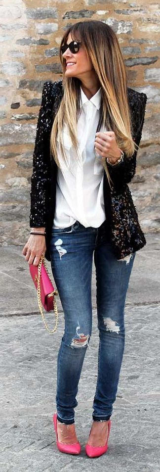 sequin blazer 2