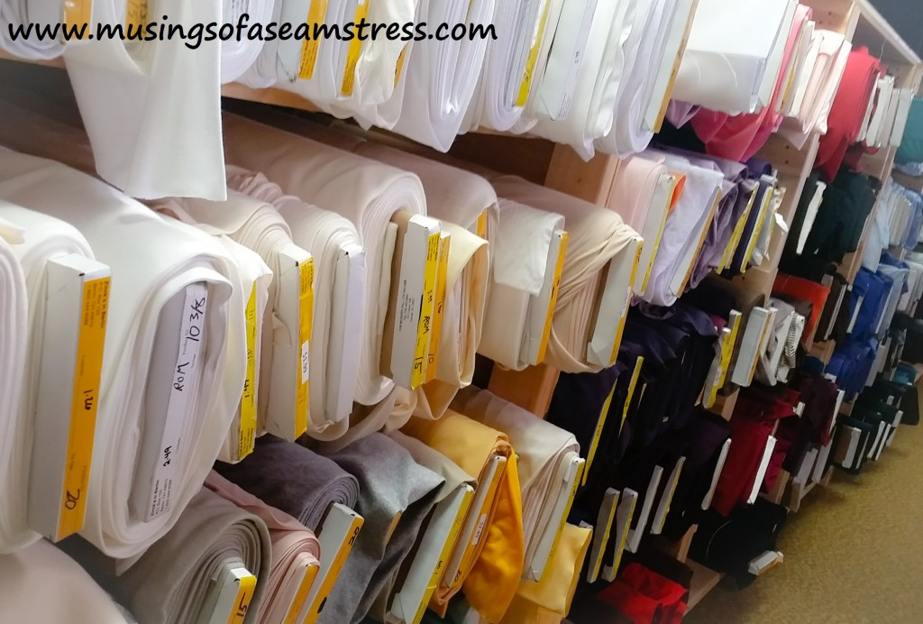 Musings of a Seamstress - Zinck's Fabric Outlet
